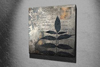 Tablou decorativ pe panza Majestic, 257MJS1253, 45 x 45 cm, Multicolor imagine