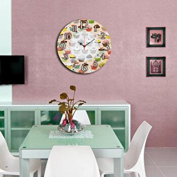 Ceas decorativ de perete Home Art 238HMA3145 40 cm Multicolor
