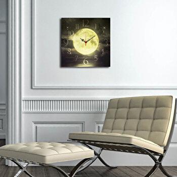 Ceas decorativ de perete Home Art 238HMA3159 40 x 40 cm Multicolor