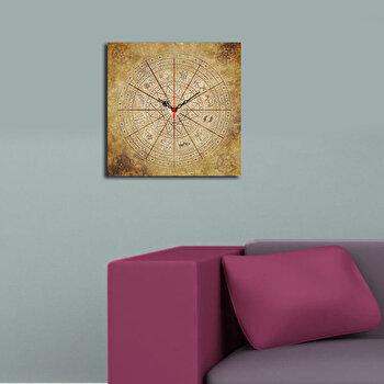 Ceas decorativ de perete Home Art 238HMA3180 40 x 40 cm Multicolor