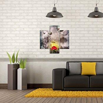 Tablou decorativ Multicanvas Three Art, 3 Piese, 251TRE1908, Multicolor