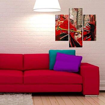 Tablou decorativ Multicanvas Three Art, 3 Piese, 251TRE1916, Multicolor