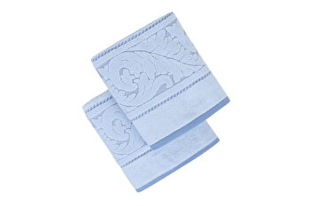 Set doua prosoape de maini, Hobby, 317HBY2260, Albastru