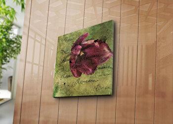 Tablou decorativ Bonanza, 242BNZ1202, 45 x 45 cm, Multicolor elefant