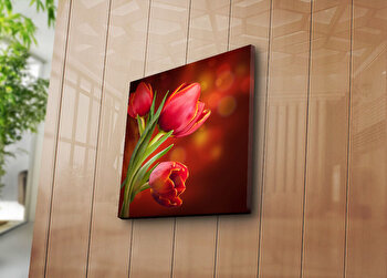 Tablou decorativ Bonanza, 242BNZ1238, 45 x 45 cm, Multicolor elefant