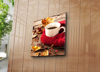 Tablou decorativ Bonanza, 242BNZ1281, 45 x 45 cm, Multicolor elefant