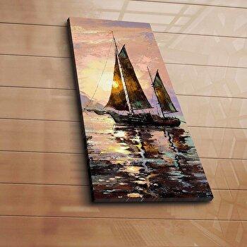 Tablou decorativ pe panza Horizon, 237HRZ1208, Multicolor