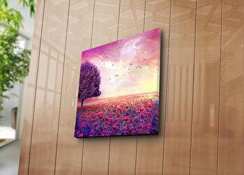 Tablou decorativ Sightly, 252SGH1211, 45 x 45 cm, Multicolor imagine