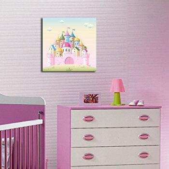 Tablou decorativ Taffy, 241TFY1207, 45 x 45 cm, Multicolor imagine