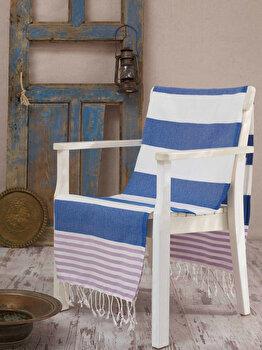 Prosop de plaja, Eponj Home, 336EPJ1311, Multicolor imagine