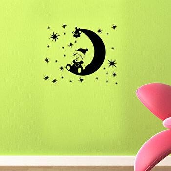 Sticker decorativ de perete Christmas Wall, 229CST1021, Negru imagine