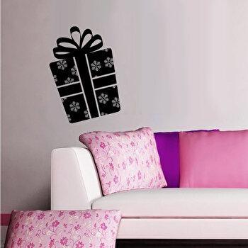 Sticker decorativ de perete Christmas Wall, 229CST1035, Negru