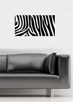 Sticker decorativ de perete Pushy, 246PHY5012, Negru elefant