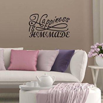 Sticker decorativ de perete Pushy, 246PHY7034, Negru imagine