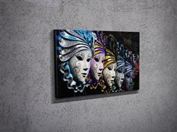 Tablou decorativ pe panza Majestic, 257MJS1208, Multicolor imagine