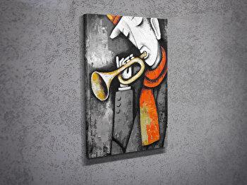 Tablou decorativ pe panza Majestic, 257MJS1213, Multicolor imagine