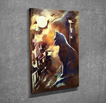Tablou decorativ pe panza Majestic, 257MJS3224, Multicolor imagine