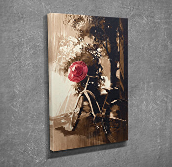Tablou decorativ pe panza Majestic, 257MJS3234, Multicolor imagine