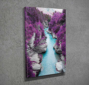 Tablou decorativ pe panza Majestic, 257MJS1307, Multicolor imagine