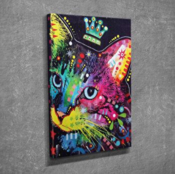 Tablou decorativ pe panza Symphony, 762SYM3209, Multicolor