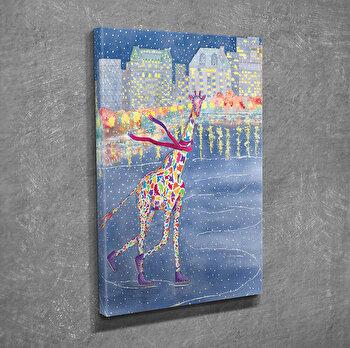 Tablou decorativ pe panza Symphony, 762SYM3213, Multicolor imagine