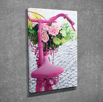 Tablou decorativ pe panza Symphony, 762SYM4224, Multicolor elefant