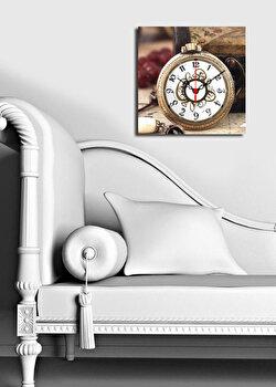 Ceas decorativ de perete Clock Art 228CLA1604 Multicolor