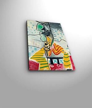 Tablou decorativ pe panza Horizon, 237HRZ3205, Multicolor