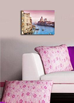 Tablou decorativ pe panza Horizon, 237HRZ3229, Multicolor imagine