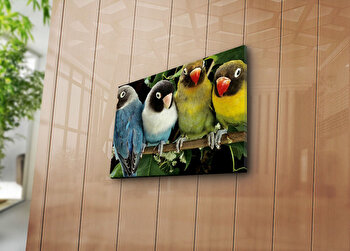 Tablou decorativ pe panza Horizon, 237HRZ3230, Multicolor imagine