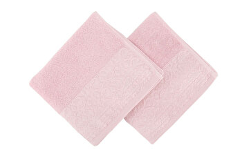 Set doua prosoape de maini, Soft Kiss, 330SFT1225, Roz imagine