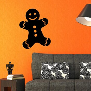 Sticker decorativ de perete Christmas Wall, 229CST1013, Negru