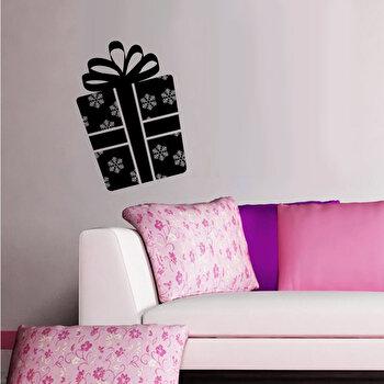 Sticker decorativ de perete Christmas Wall, 229CST1015, Negru elefant