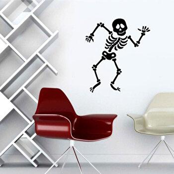 Sticker decorativ de perete Pushy, 246PHY5002, Negru imagine