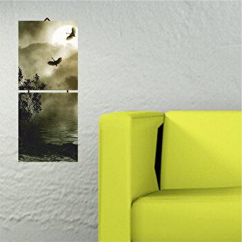 Tablou decorativ multicanvas Allure, 2 Piese, 221ALL1906, Multicolor