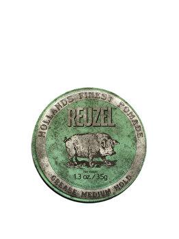 Pomada cu fixare medie Green, 35 g, Reuzel, 35 ml imagine produs