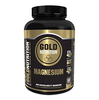 Minerale, GoldNutrition, MAGNEZIU 600 MG, 60 CPS de la GoldNutrition