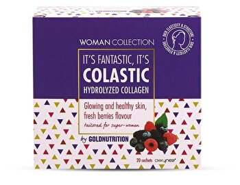 Woman Collection Colastic - Colagen hidrolizat Fructe de padure 20 doze de la GoldNutrition