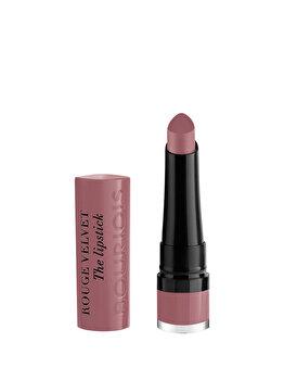 Ruj de buze Bourjois Rouge Velvet The Lipstick, 18 Mauve-Martre, 2.4 g imagine produs