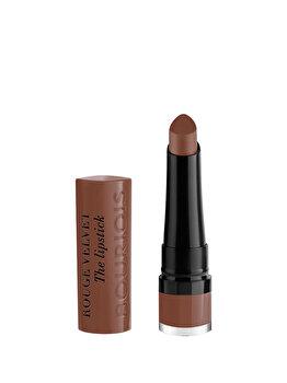 Ruj de buze Bourjois Rouge Velvet The Lipstick, 23 Taupe Of Paris, 2.4 g imagine produs