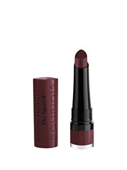 Ruj de buze Bourjois Rouge Velvet The Lipstick, 26 French Opera, 2.4 g imagine produs