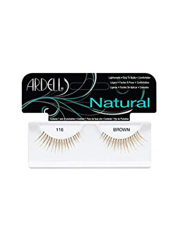 Gene false, Ardell Natural, 116 Brown poza