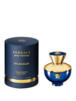 Apa de parfum Versace Dylan Blue Pour Femme, 100 ml, pentru femei imagine produs