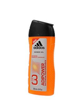 Gel de dus Adidas Adipower, 250 ml, pentru barbati poza