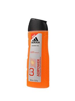 Gel de dus Adidas Adipower, 400 ml, pentru barbati poza