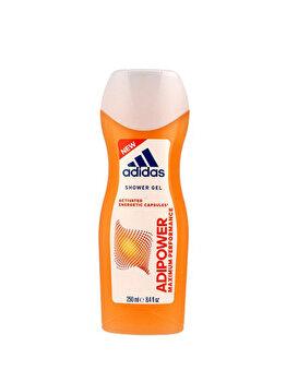 Gel de dus Adidas Adipower, 250 ml, pentru femei poza