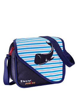 Step by Step Junior - Geanta Alpbag - balena, 7x19x28 cm