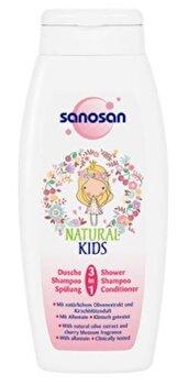 Sampon pentru copii Natural Kids 3in1, 250 ml