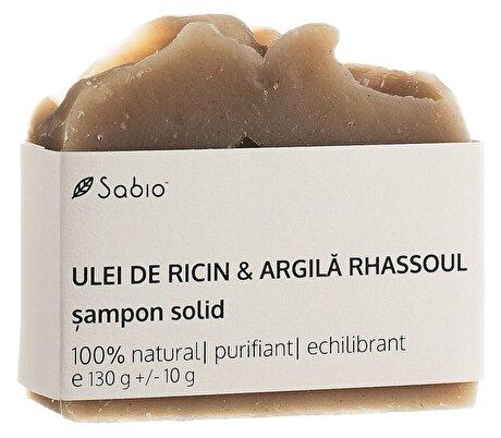 Sampon solid cu Ricin si Argila Rhassoul