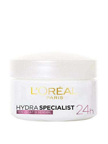 Crema hidratanta pentru fata L'Oreal Paris Hydra Specialist pentru tenul uscat si sensibil